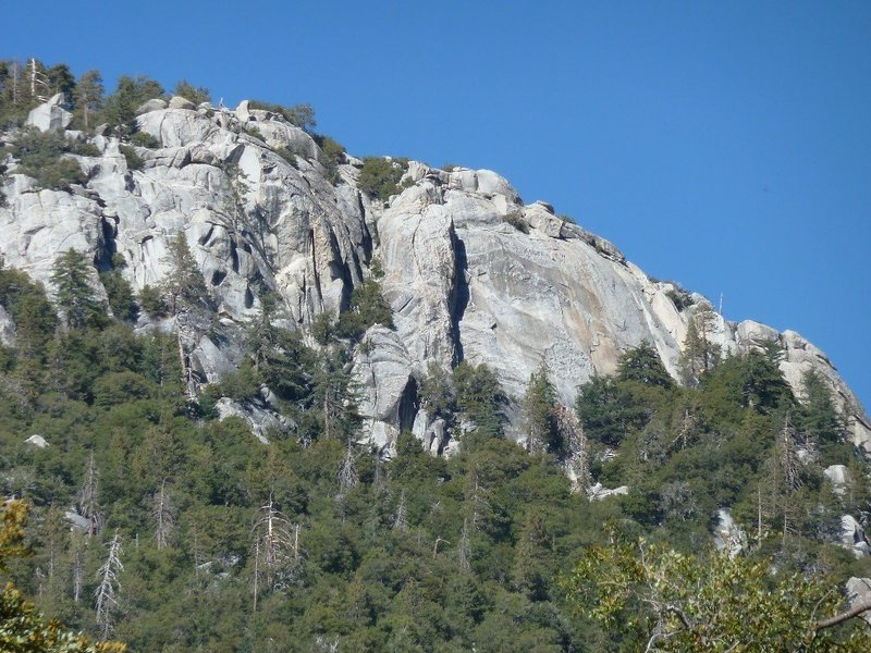 The sunny South Face, Suicide Rock