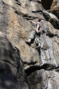 Rock Climbing Photo: just past first crux