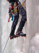 Rock Climbing Photo: profile pic, ice climbing