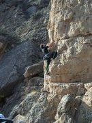 Rock Climbing Photo: The pillar at Poo's corner