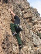 Rock Climbing Photo: Poo's corner