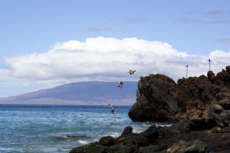 Rock Climbing Photo: Black Rock, Maui facebook.com/pages/Boulder-CO/...