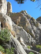 Rock Climbing Photo: The sweetest link-up, Co-nads to Wolf's Tooth....