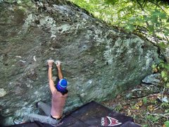 """Rock Climbing Photo: The start of """"Four Little Monsters"""" at G..."""