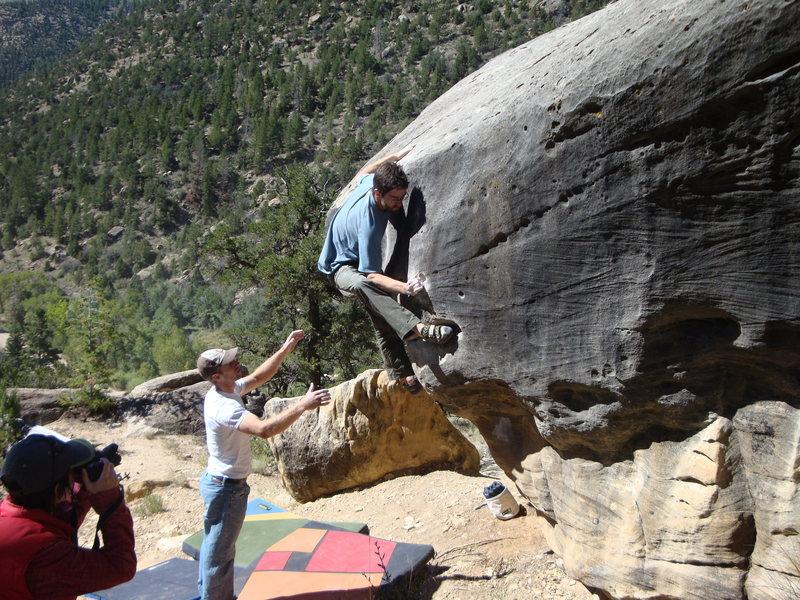 Rock Climbing Photo: Moby Dick V6