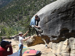 Rock Climbing Photo: Moby Dick V6