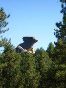 Rock Climbing Photo: Funky rock.