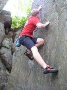 Rock Climbing Photo: Right of Bark Biter