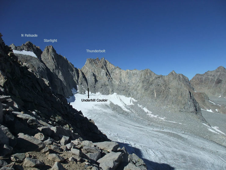traverse from the approach to Sill
