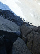 Rock Climbing Photo: great rock on the Swiss Arete