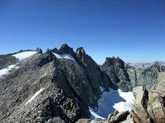 Rock Climbing Photo: traverse to Polemonium