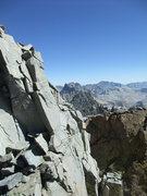 Rock Climbing Photo: exposed fun on the way to Polemonium