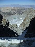 Rock Climbing Photo: U-notch (in season)