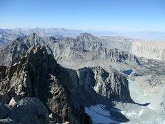 Rock Climbing Photo: NE rib on T-bolt