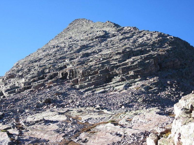 North Face, West Trinity Peak, San Juan Mountains, CO.  Photo by [[Steve.]]106567872