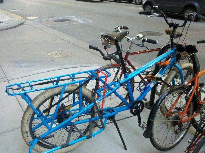 crash pad compatible bike