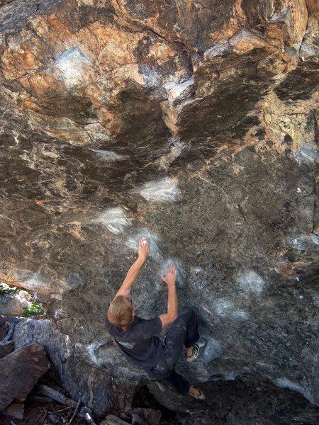 Such a beautiful boulder problem!!