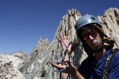 Rock Climbing Photo: ON BELAY