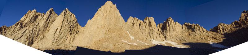 Rock Climbing Photo: whitney panarama
