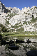 Rock Climbing Photo: lower boyscout lake