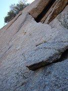 Rock Climbing Photo: Hanging Gardens, Gardener Wall, McDowell Mountains