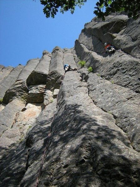 Rock Climbing Photo: Treatment Bound, 10a on The Bend.