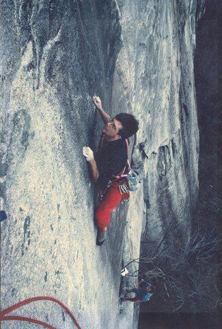 Rock Climbing Photo: Classic shot of Sean Coburn on the 2nd pitch.