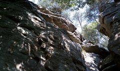 Rock Climbing Photo: The flake @ Palisades