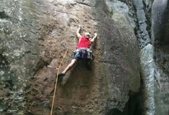 Rock Climbing Photo: Me on dreamscape...