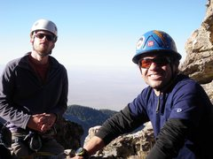 Rock Climbing Photo: Adam and Alexander on the Lower Buttress of The Pr...