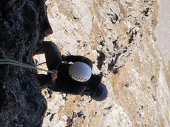 Rock Climbing Photo: Adam and Alexander rapping from the start of the f...