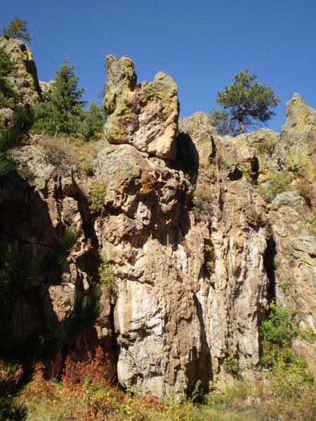 Rock Climbing Photo: Project.