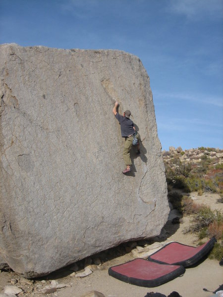 Midway up a classic highball.