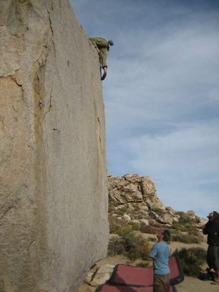 Rock Climbing Photo: Topping out. Thanks for the spot fellas!