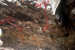Rock Climbing Photo: Stand Start location
