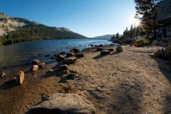 Rock Climbing Photo: Tenaya Lake at Sunset