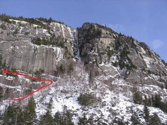 Rock Climbing Photo: How to make it to the bottom of the route