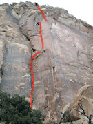 Rock Climbing Photo: The way to go.