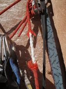 Rock Climbing Photo: Everyone loves to jug on cored ropes.