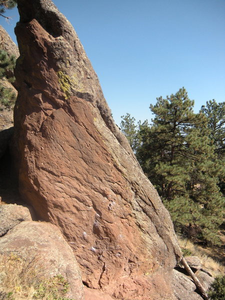 Loose Flake Spire. South side.