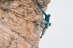 Rock Climbing Photo: Climbing Red Rocks