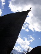 Rock Climbing Photo: Summit of the Edge of Time.