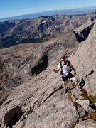 Rock Climbing Photo: Longs Peak