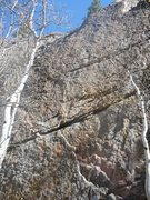 Rock Climbing Photo: Left side of the Lower Tier.