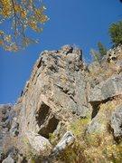 Rock Climbing Photo: Upper Tier right.