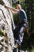 Rock Climbing Photo: Yup, that's me...