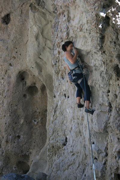 Rock Climbing Photo: Electric Eye on 10-2-10
