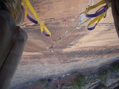 Rock Climbing Photo: Pitch one
