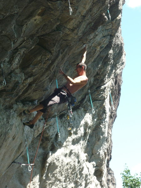 Rock Climbing Photo: Come on guys, let's strip the wall and climb the b...