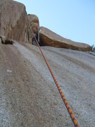 Rock Climbing Photo: Word to the wise! The giant block, seen behind the...